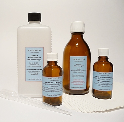 SALZDRUCK KIT 200 ( 2X 100 ML ) - KOMPLETT