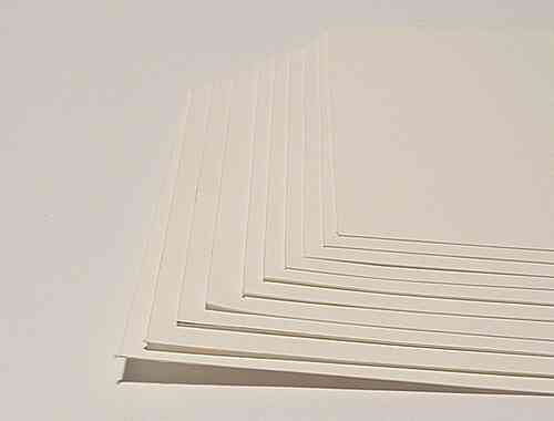"20 SHEETS CANSON ""ARCHES PLATINE"" ALTERNATIVE PRINTING PAPER 25 X 28 CM"